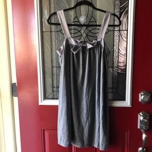 Gray Attention Dress